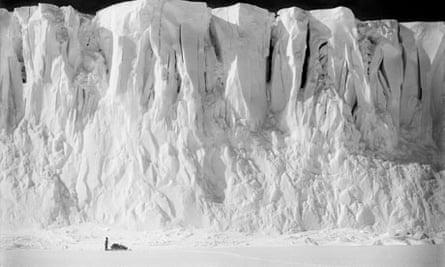 Barne Glacier, Ross Island, Antactic