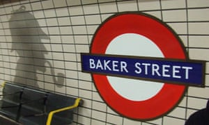 Baker Street on the London underground