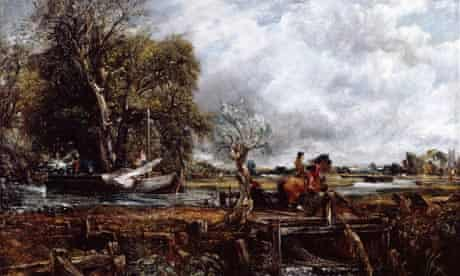 John Constable's The Leaping Horse