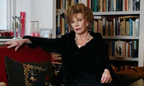 Portrait of the author Edna O'Brien