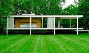 Farnsworth House, from Mies van der Rohe: A Critical Biography.