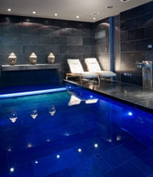 Cliffe House basement swimming pool london
