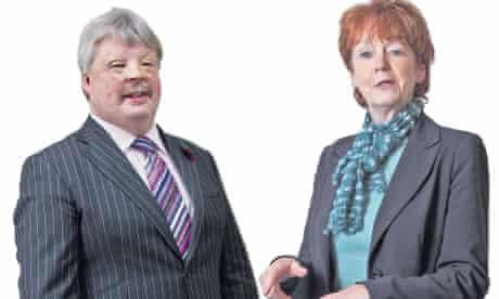 Former MP Vera Baird and Falklands veteran Simon Weston