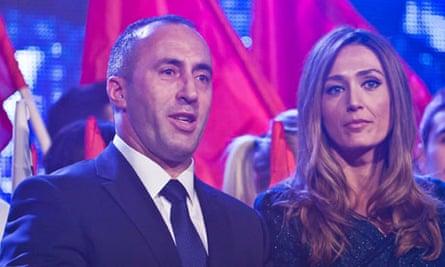 Kosovo's former prime minister Ramush Haradinaj
