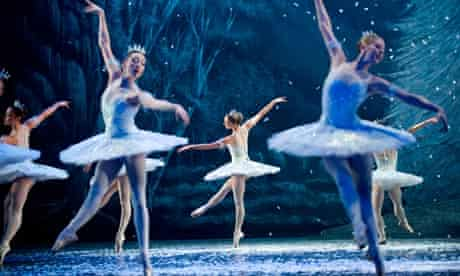 English National Ballet performing The Nutcracker in London.
