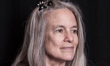 Sharon Olds, American poet, photographed at the Royal Festival Hall