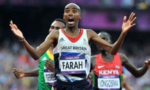 Mo Farah Olympics win