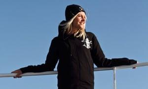 British Sea Shepherd volunteer Natalie Fox