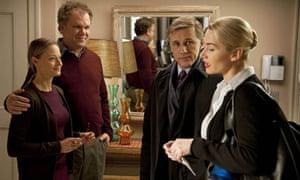 Jodie Foster, John C. Reilly, Christoph Waltz & Kate Winslet in Carnage