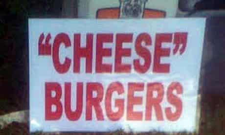 'cheese' burgers sign on smosh blog