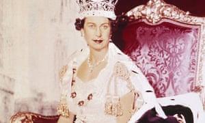 Queen Elizabeth II in 1953