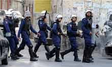 Clashes between pro-reform protesters and police in Manama, Bahrain
