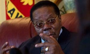 Malawi's President Bingu wa Mutharika