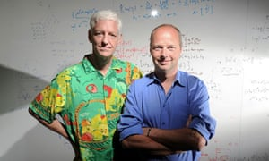 Computer scientists Peter Norvig and Sebastian Thrun