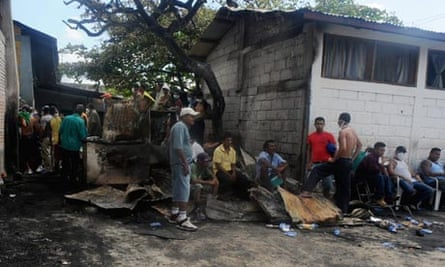 Fire in Honduran prison