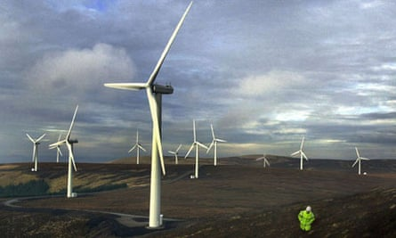SCOTLAND Windfarm