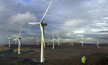 SCOTLAND Windfarm