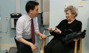 Miliband on health reforms