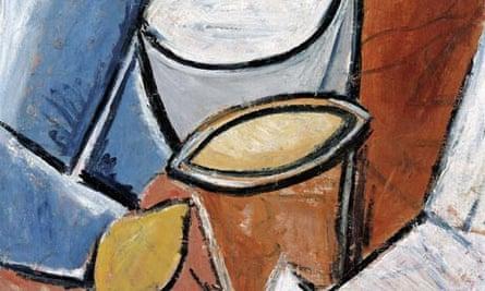 Picasso's Jars and Lemon, 1907