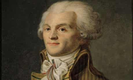 Portrait of Maximilien de Robespierre