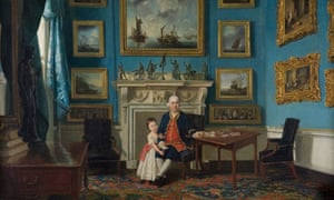 Sir Lawrence Dundas with his Grandson by Johan Zoffany