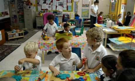 Children at Jumeirah Primary School