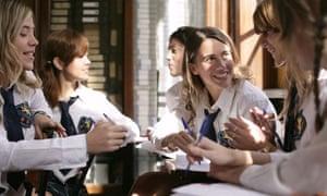 Teenage schoolgirld