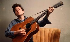 A portrait of Bob Dylan, 1963