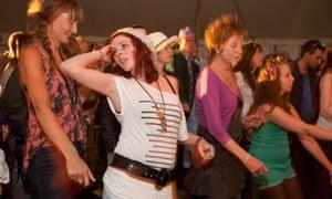 Martin Parr's chosen shot of the Port Eliot festival