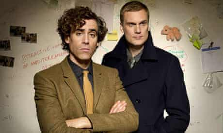 stephen mangan and Darren Boyd Dirk Gently tv review