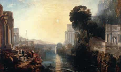 Dido Building Carthage by JMW Turner