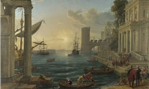 Claude's Embarkation of the Queen of Sheba
