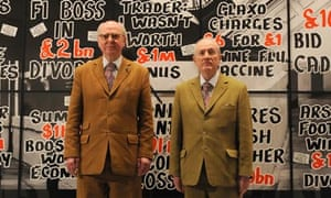 Gilbert & George exhibition - London