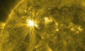 Solar Flare Eruptions - Mar 2012