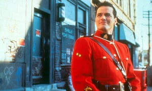 Paul Gross as Mountie Benton Fraser in Due South