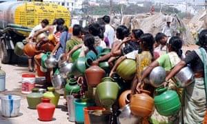 water queue