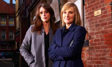 Rachel Bailey (Suranne Jones) and D.C. Janet Scott (Lesley Sharp) Scott & Bailey