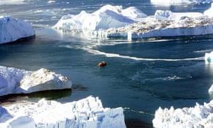 titanic icebergs