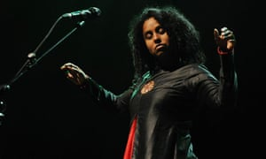 Susheela Raman Performs At Queen Elizabeth Hall In London