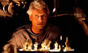 Rutger Hauer in Ridley Scott's Blade Runner (1982).
