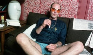 Hunter S Thompson photographed in 1977