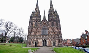 Lichfield Cathedral - furthest from the sea?