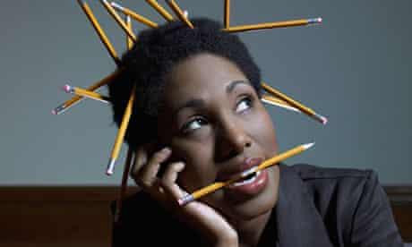 pencil hair