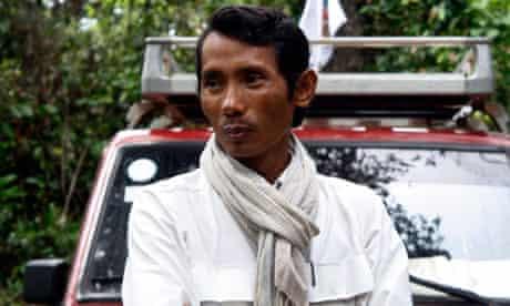 Top Cambodian environmental activist shot dead