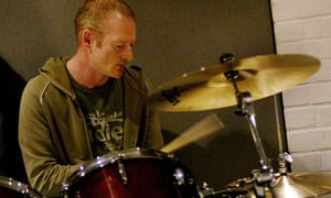 dave simpson playing the drums