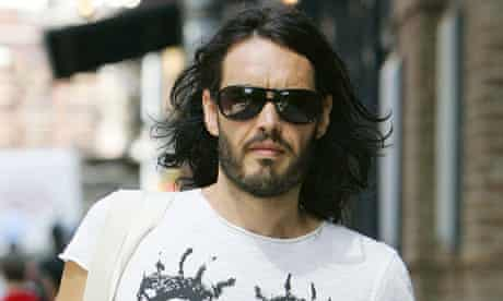 Russell Brand out and about in Tribeca, New York, America - 29 Jun 2011
