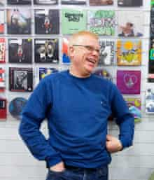 alan woods in his pop up store