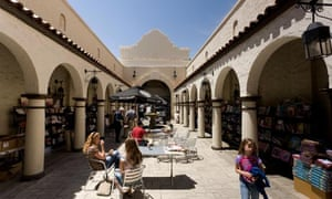 Courtyard of Historic Varsity Theater, Downtown Palo Alto, CA