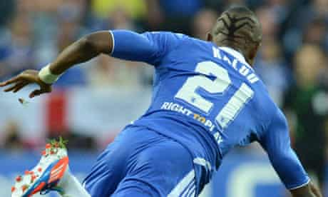 Salomon Kalou sports the spider design on the back of his head