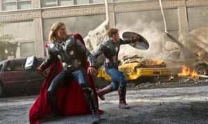 avengers assemble thor and captain america